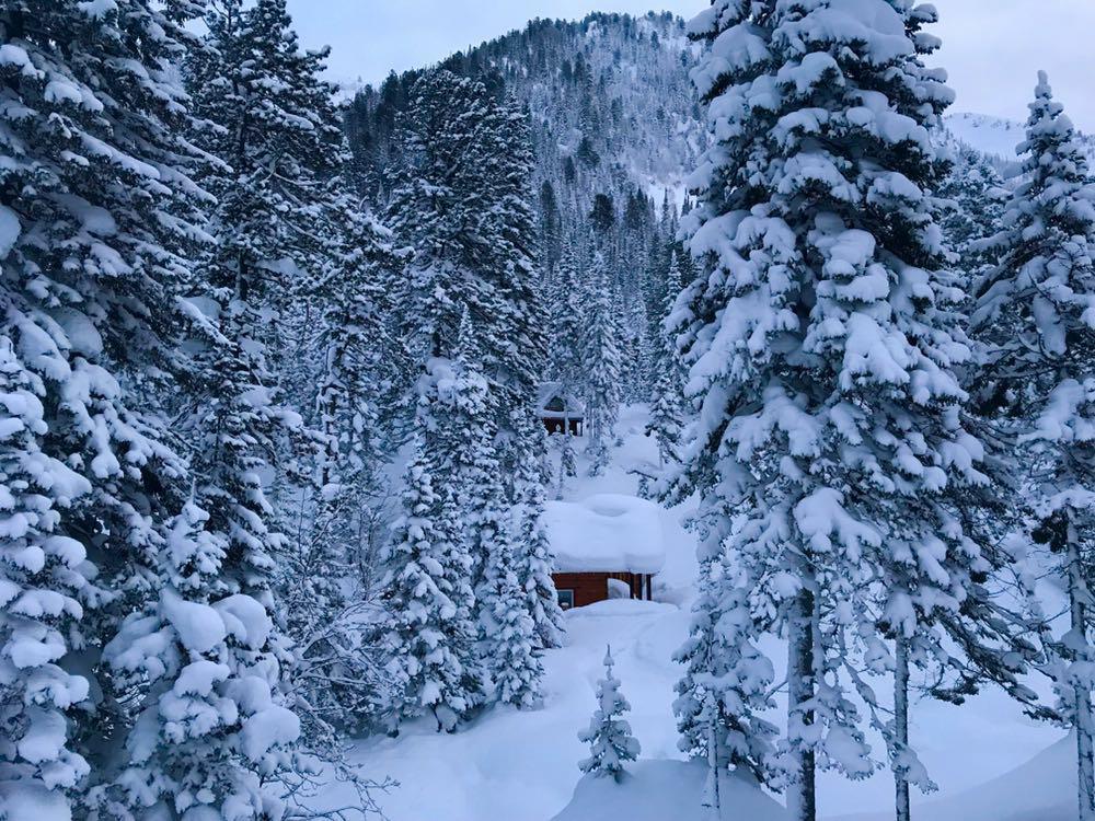 Baikal Lake ski touring