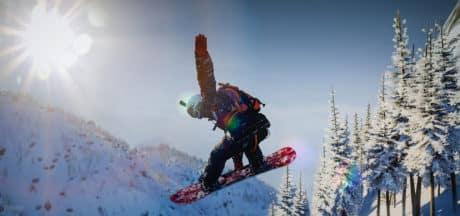 swiss and italian alps snowboard