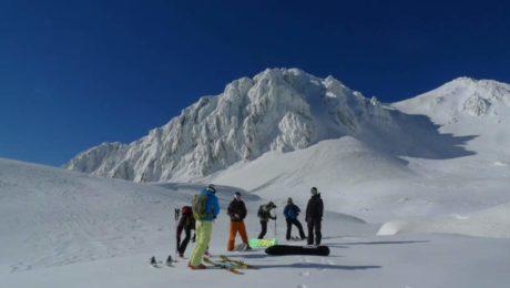 Heliboarding trip in Mt. Stol (2,236 meters)
