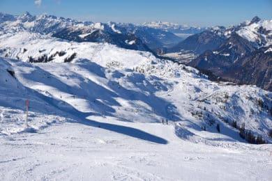 skiing trip in Arlberg