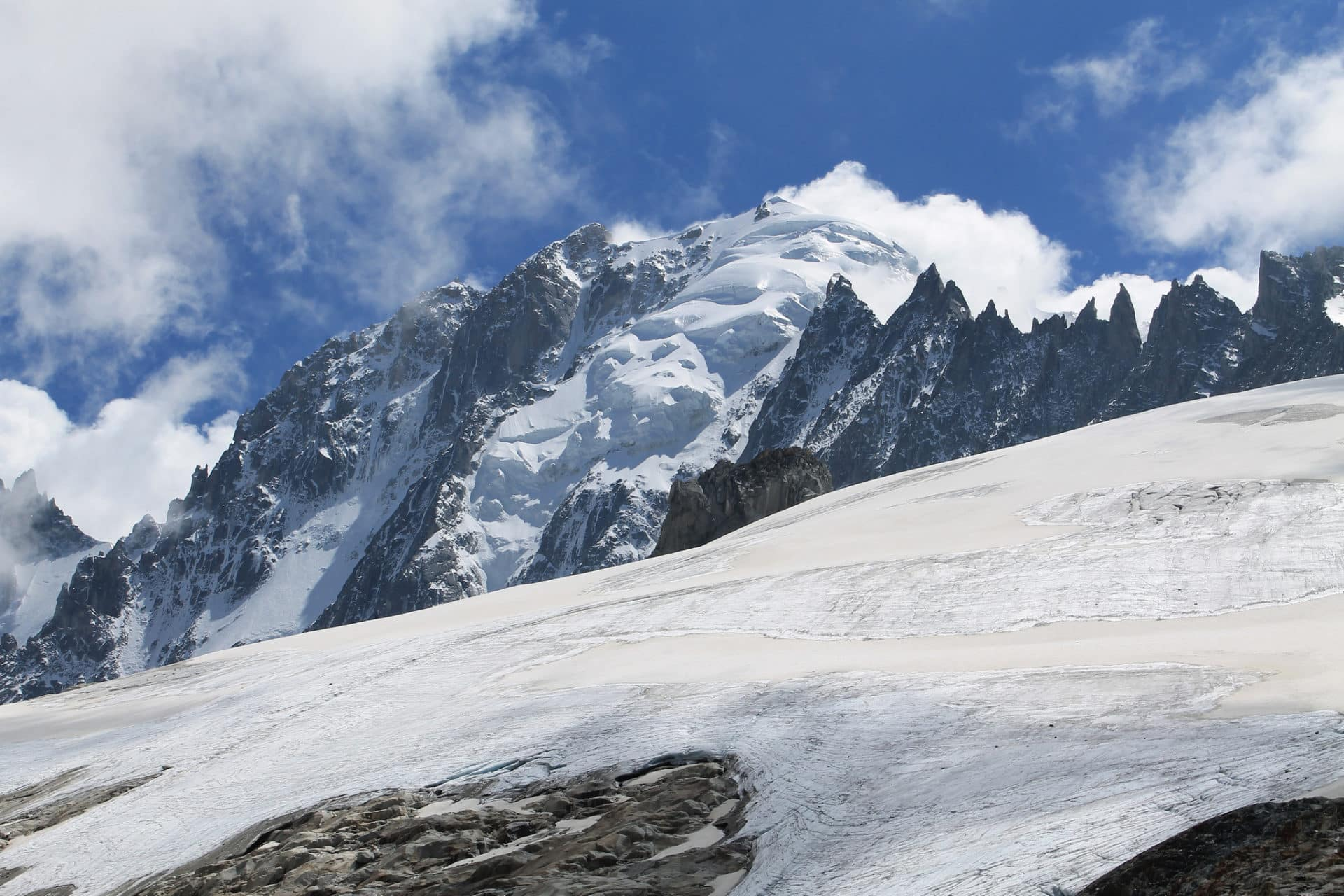 Argentiere Basin, French Alps, Guided Ski Touring