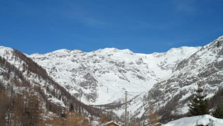 heliboarding in the Italian Alps