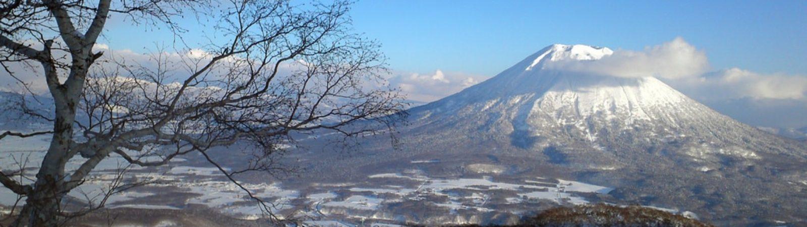 Mount Yotei splitboarding tours in Hokkaido
