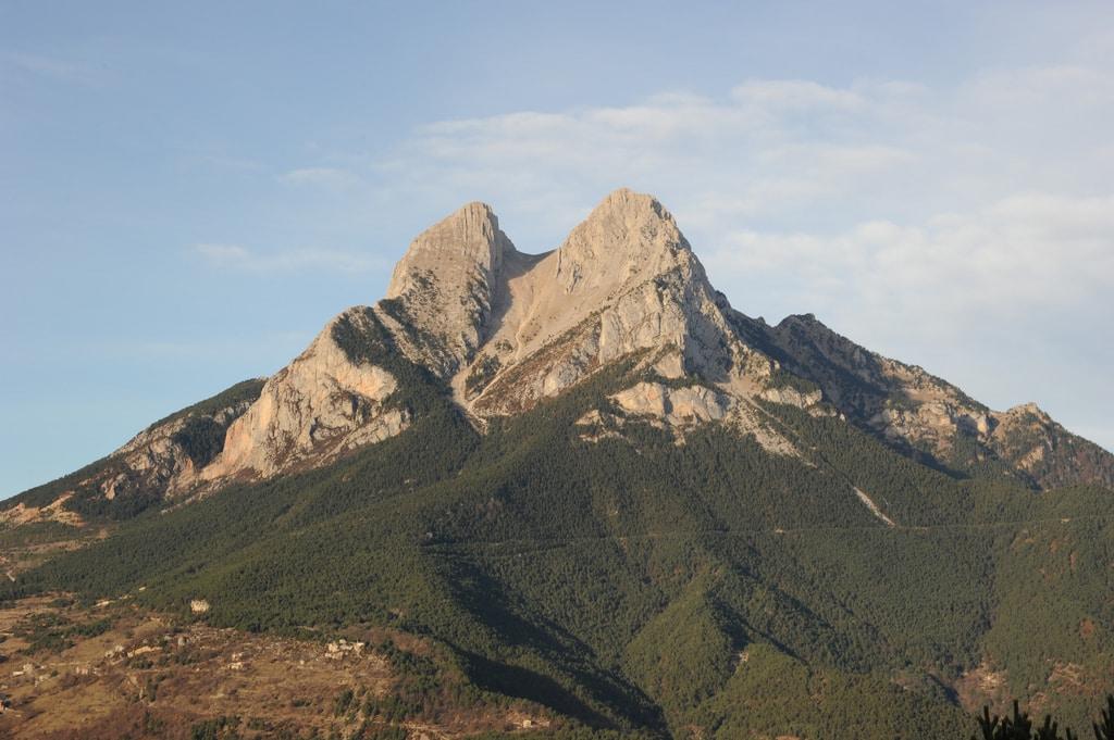 Pedraforca rock climbing near Barcelona