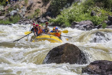 1-day Kennebec River rafting in Maine