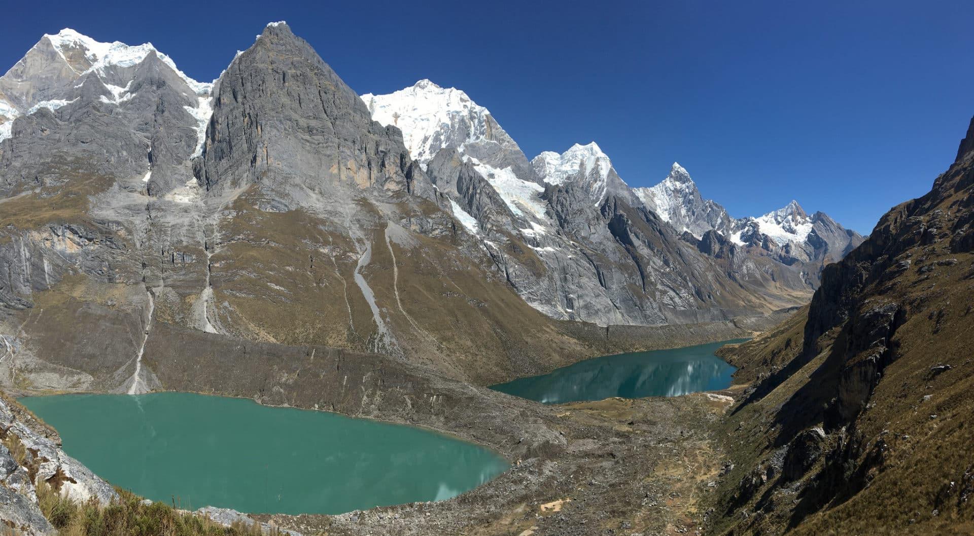 9-day trek in the Cordillera Huayhuash