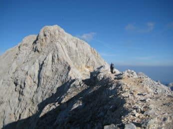 Mount Triglav climbing ascent Julian Alps