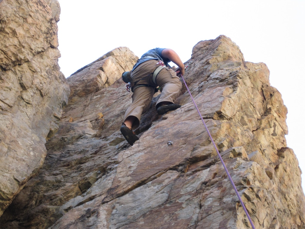 One or multi-day rock climbing course in Alberta