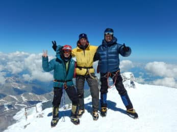 Mount Elbrus guided ascent