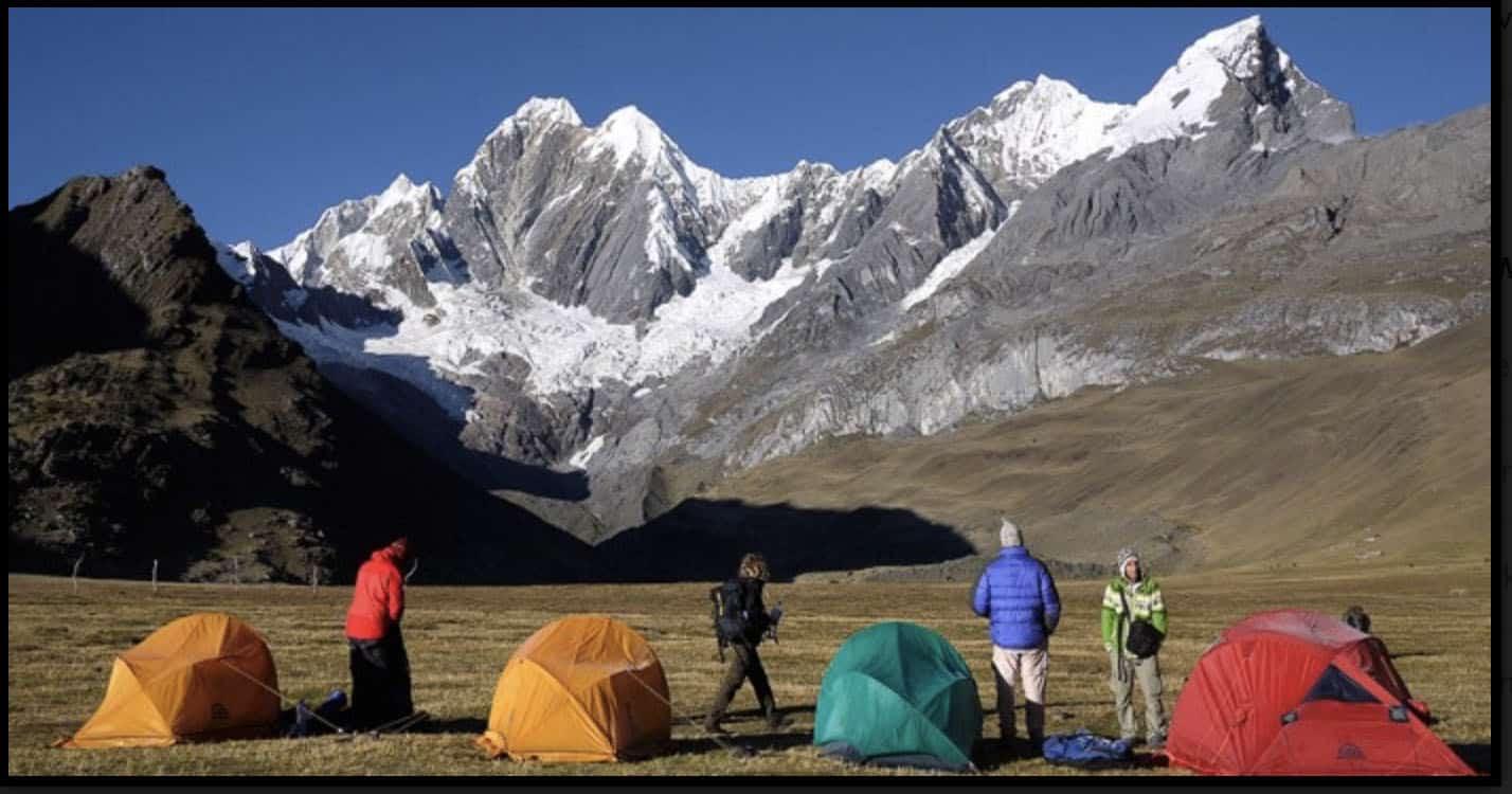 Full Huayhuash trek in 15 days