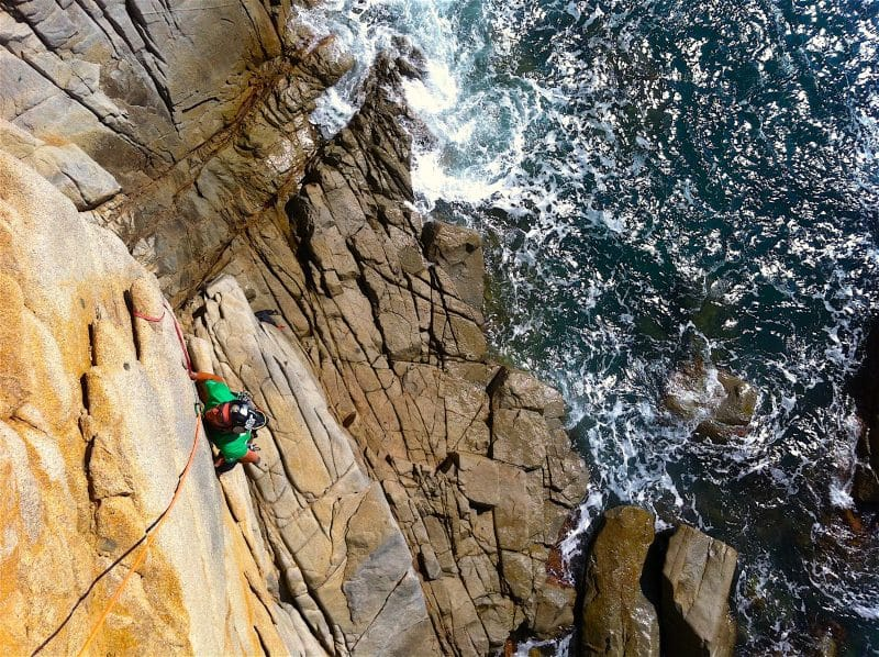 Rock climbing in Sardinia, Kalymnos, Corsica & other Mediterranean Islands