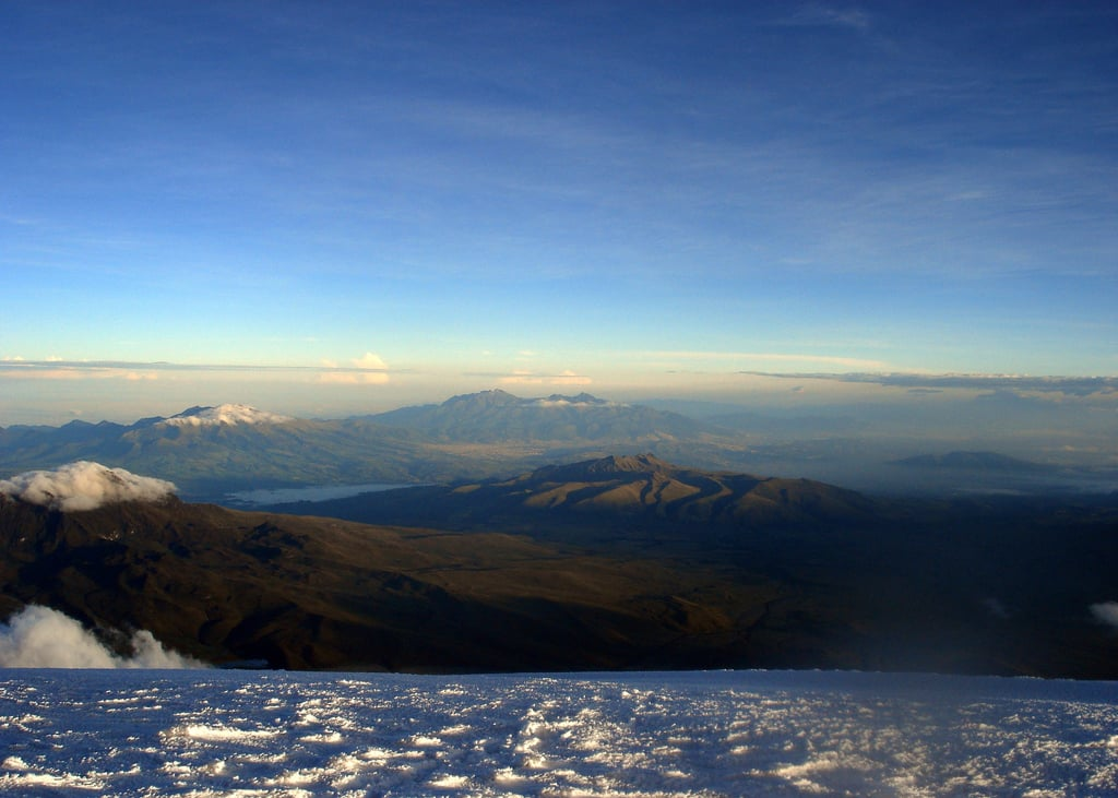 Guided expedition across the Ecuadorian Volcanoes