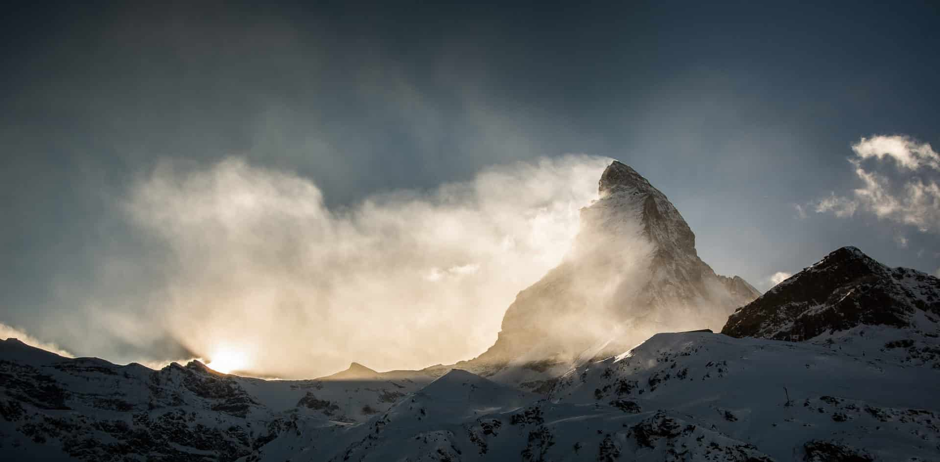 Climbing Matterhorn via the normal route