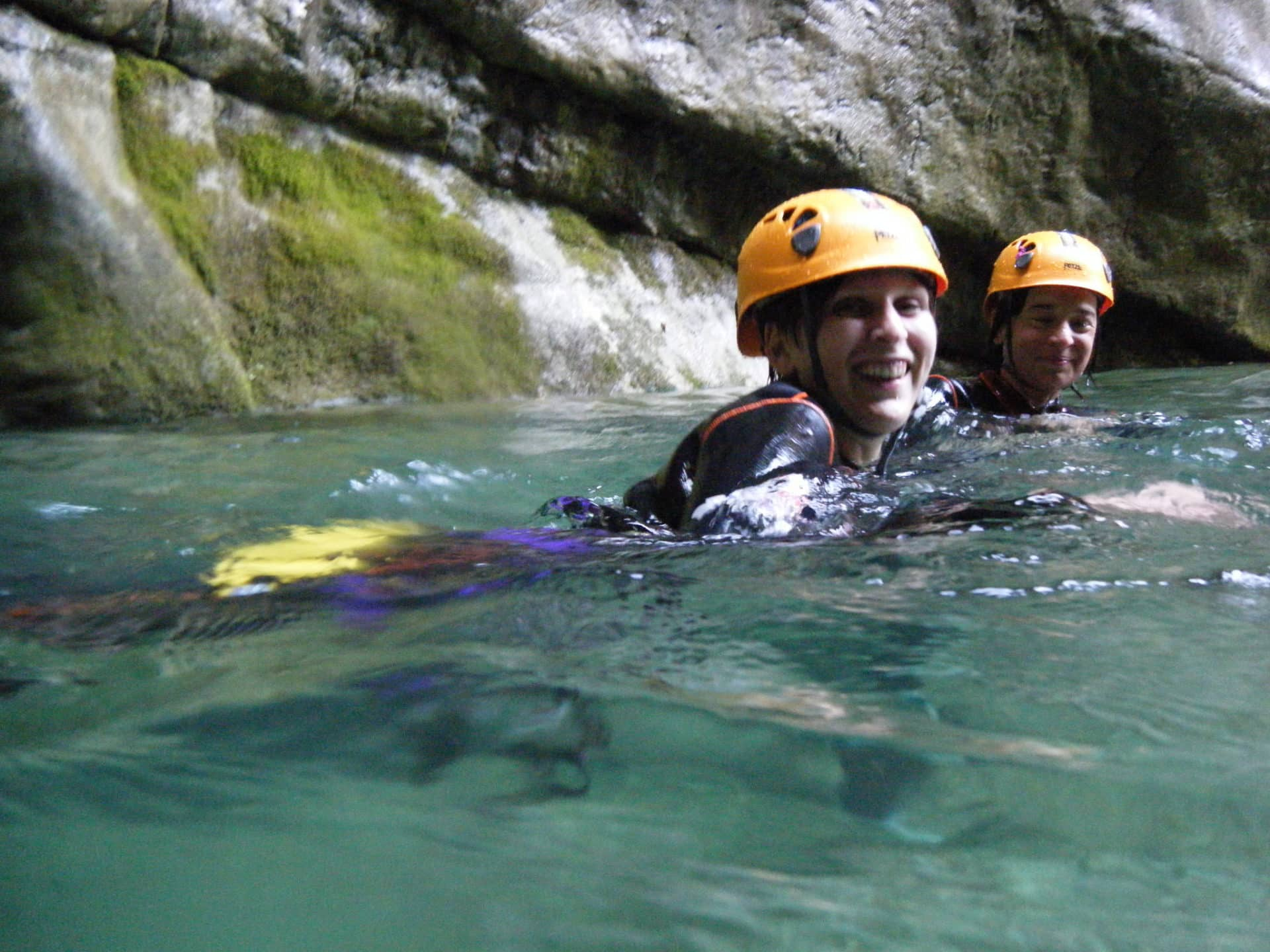 Bagnone (Massa) guided canyoning half day tour