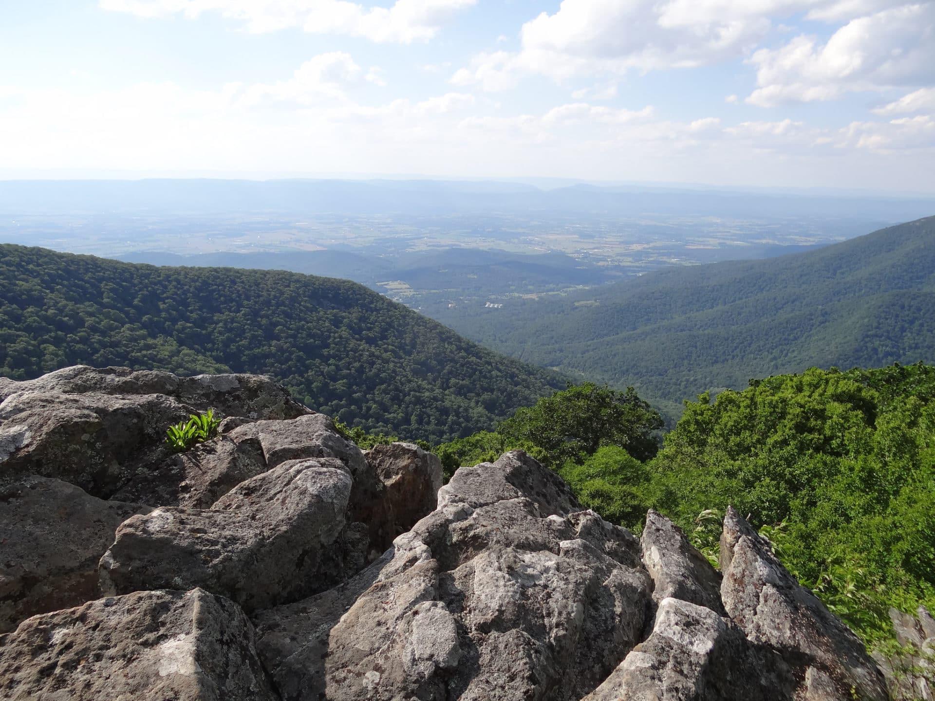 Rock Climbing day in Shenandoah National Park, WV