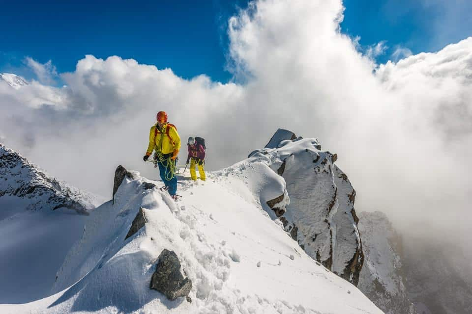 Alpine climbing 5-day introductory course from Chamonix