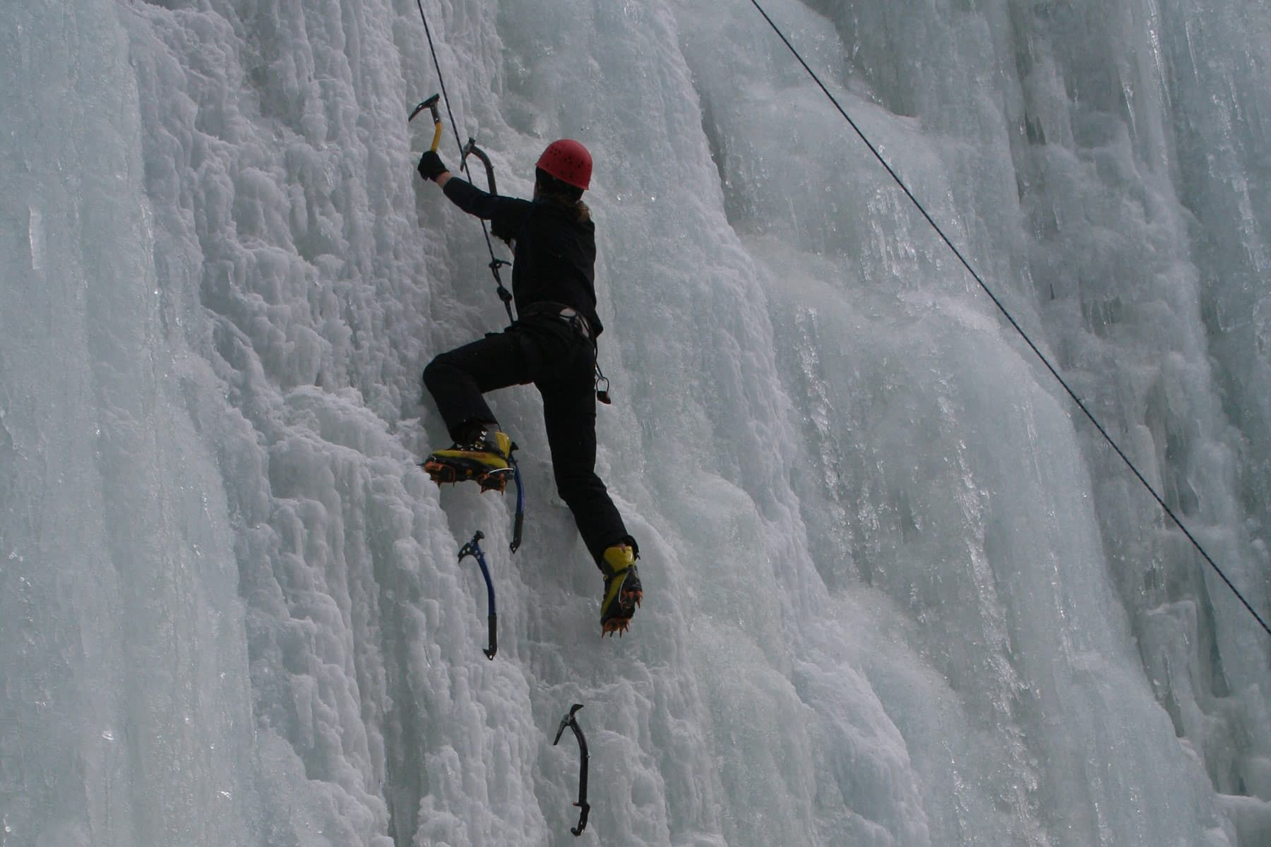 Karwendel beginners ice climbing weekend