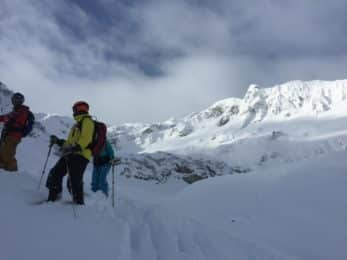 Lech freeride skiing Arlberg