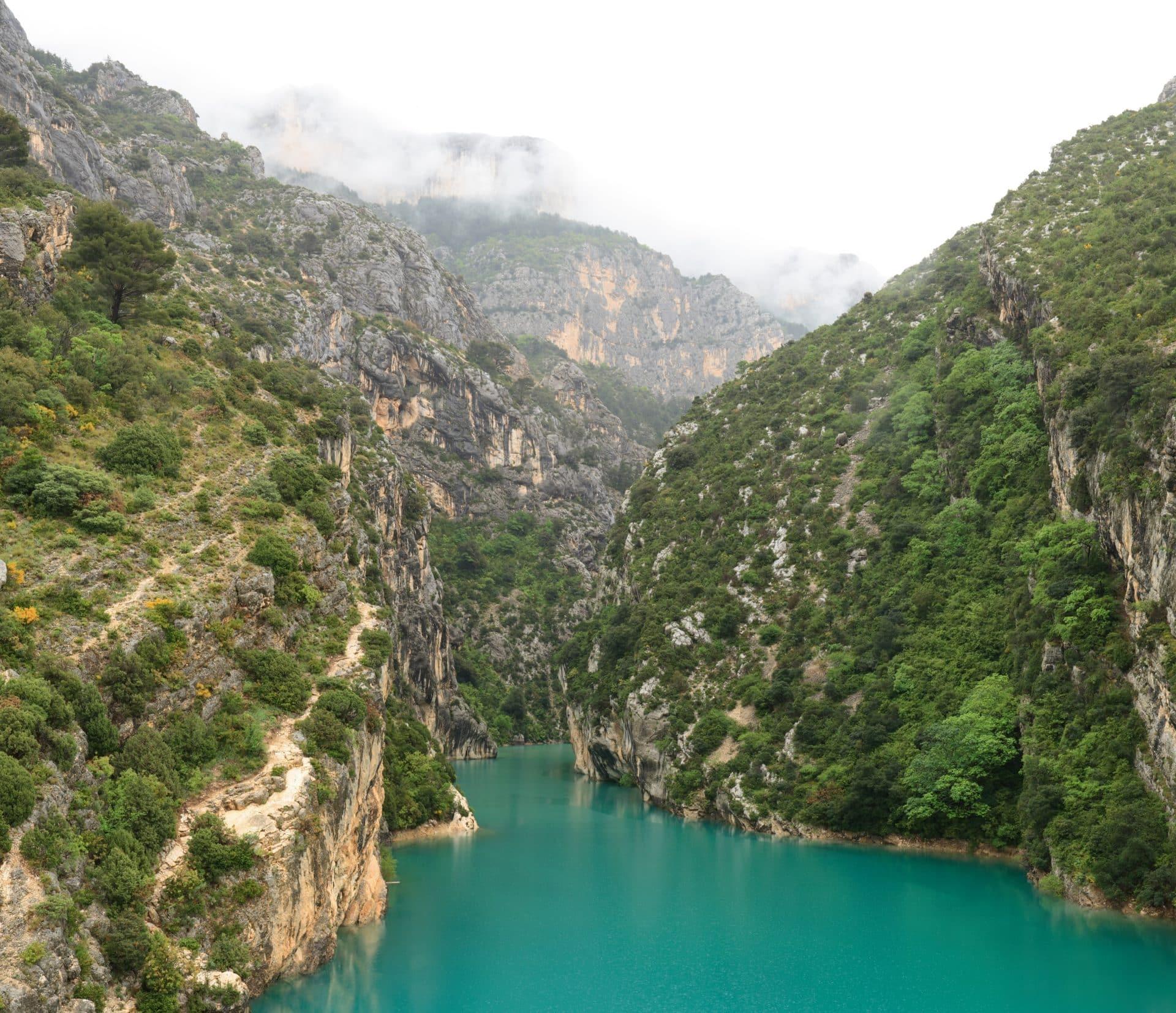 Martel Verdon Gorge hiking day, in Provence