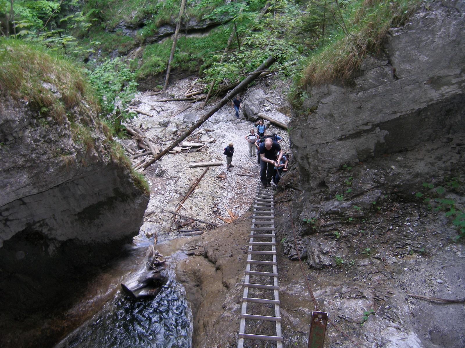 Sucha Bela, Slovak Paradise Park, Guided Hiking