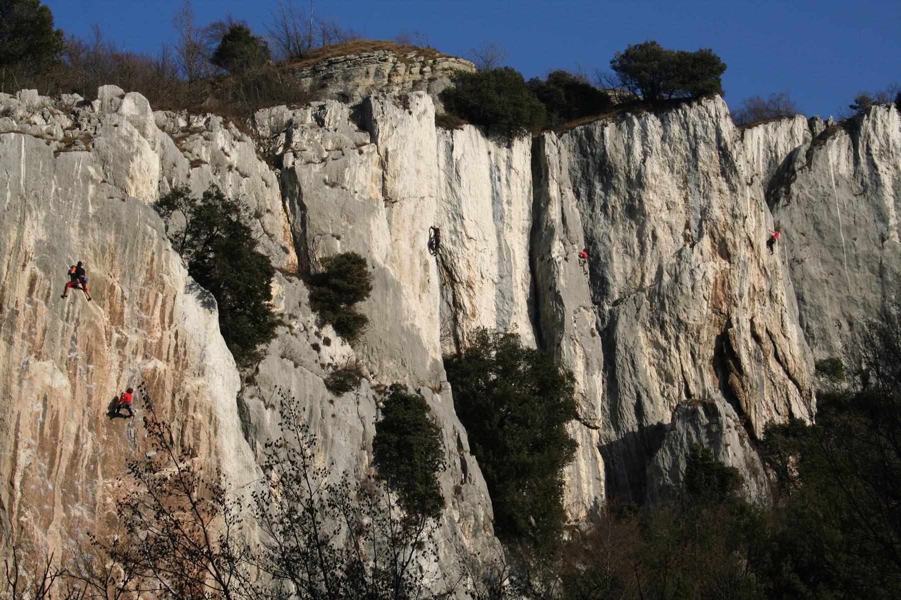 3-day sport climbing course in Arco, near Lake Garda