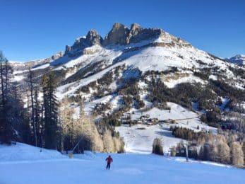 Dolomites off-piste skiing