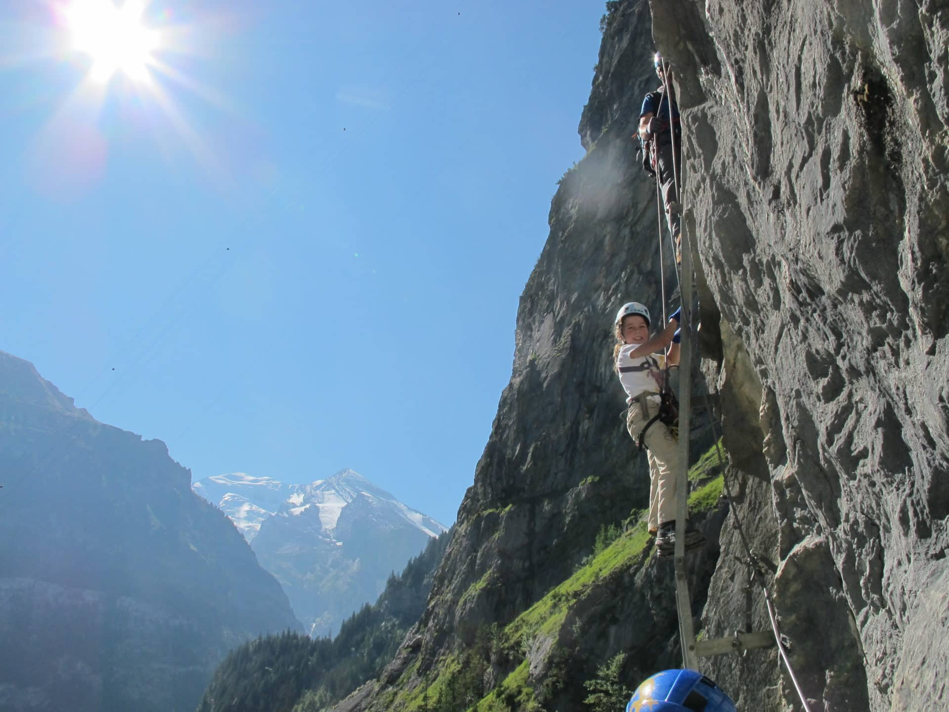 Via Ferrata in the Bernese Alps