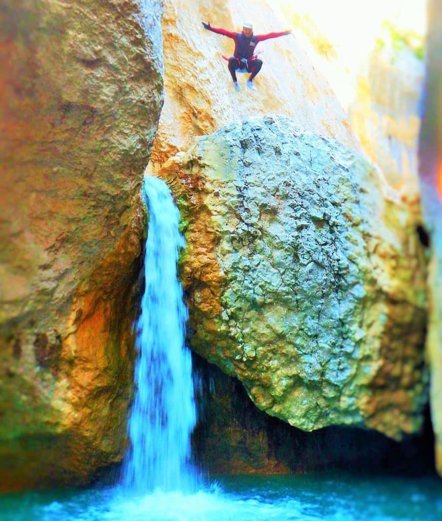 gorgas negras, canyoning in Sierra de Guara