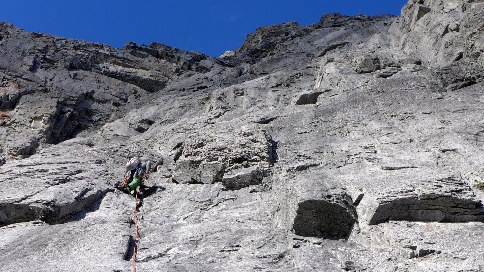 Multi-Pitch Rock Climbing Program in Canmore