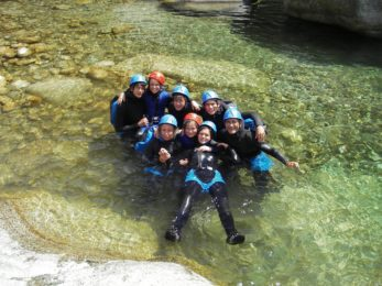 Vecchio canyoning for families