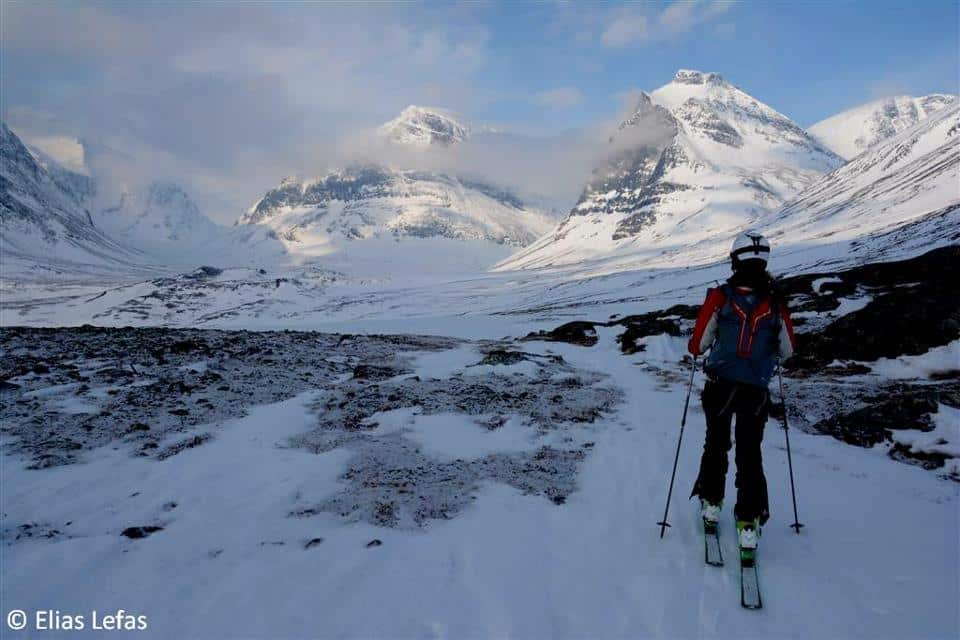 Ski touring in Greece