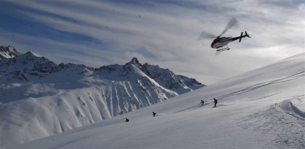 Heliskiing in Turkey