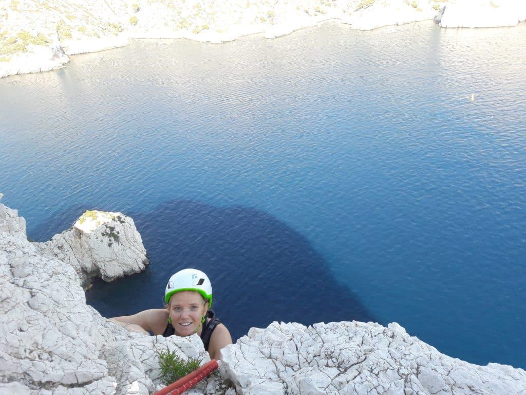 Sormiou Calanques climbing
