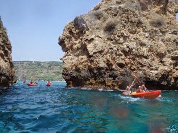 Salobreña kayaking