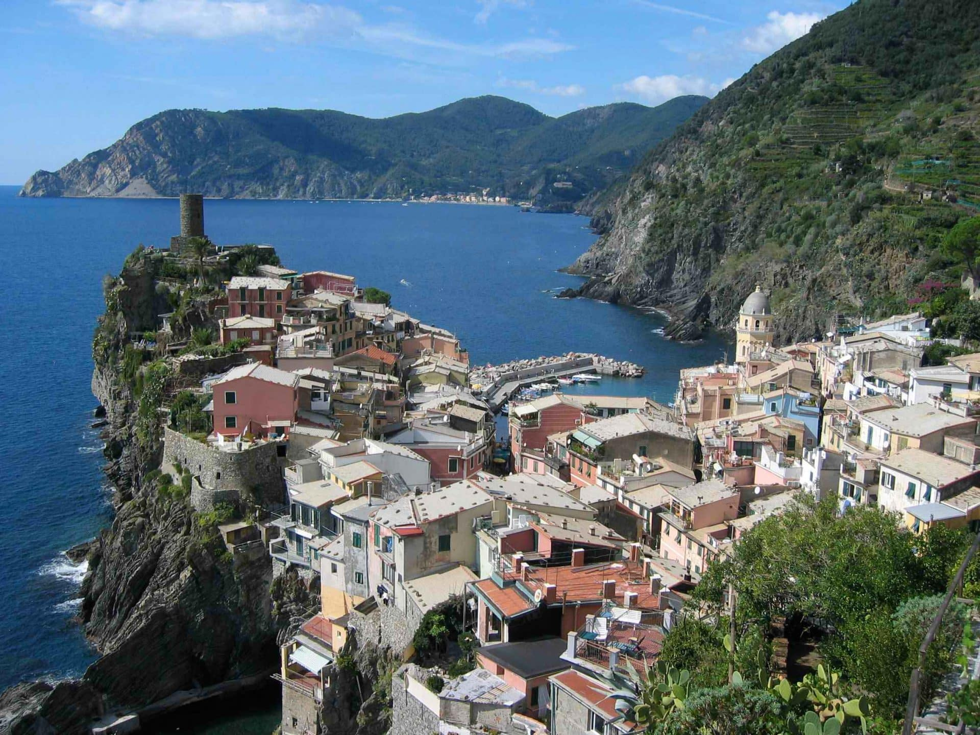 The Heart Of Cinque Terre cinque terre 3-day hiking tour, with portofino option. 3-day