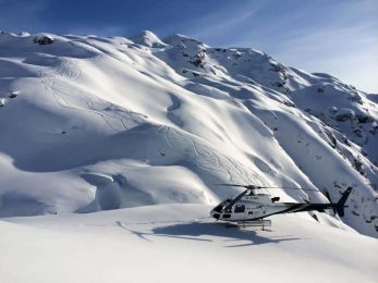 Heliskiing in Georgia