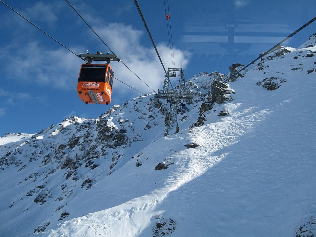 Freeride Skiing in Verbier