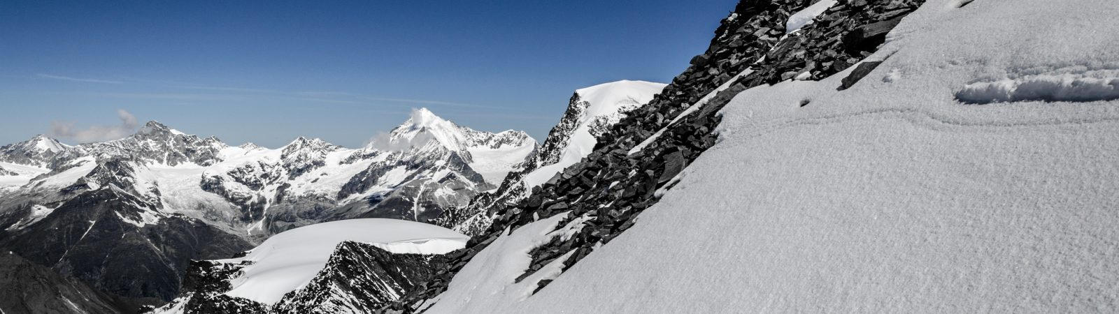 3-day ski mountaineering from Saas-Fee in the Swiss Alps
