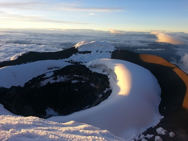 Cotopaxi climb (Ecuador): Facts & Information. Routes, Climate, Difficulty, Equipment, Preparation, Cost