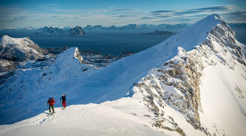 line dater norge lofoten ski