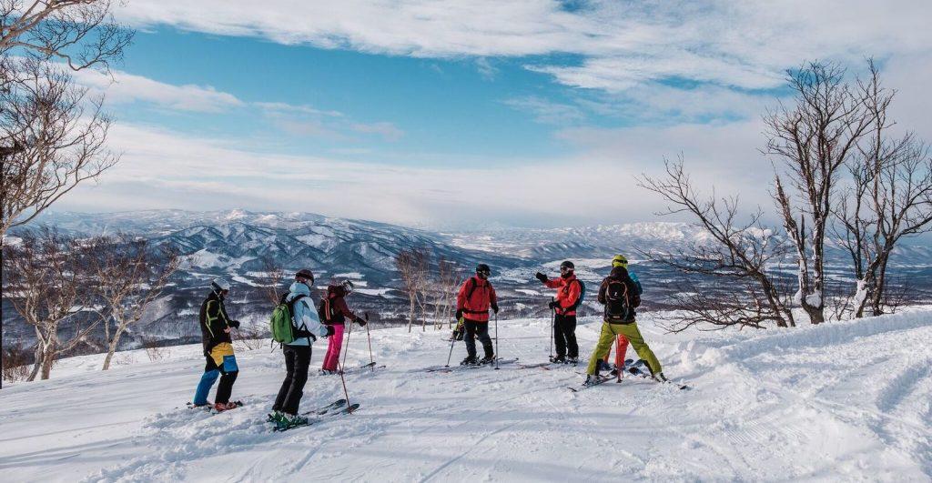 Freeride & Ski touring in Japan