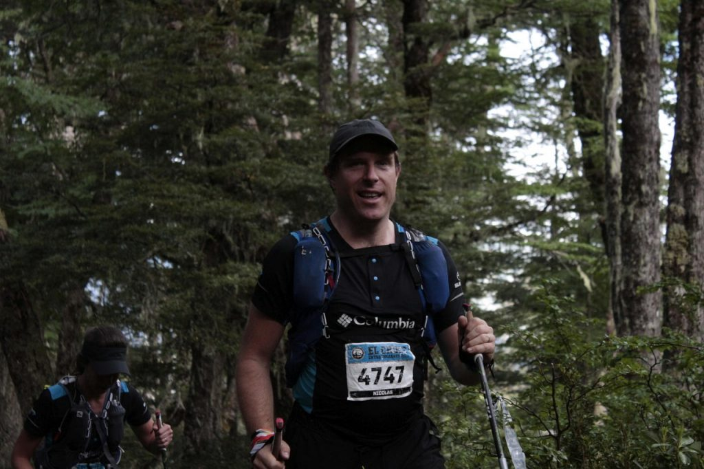 trail running Andes mountains