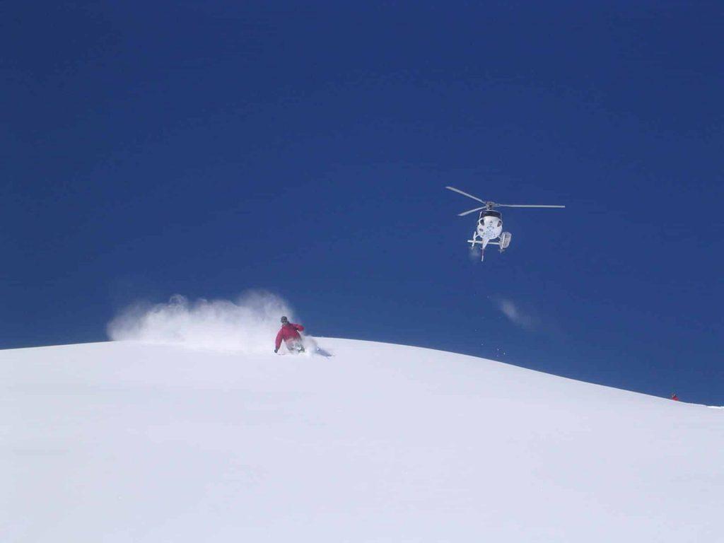 Heliskiing in Mont Blanc