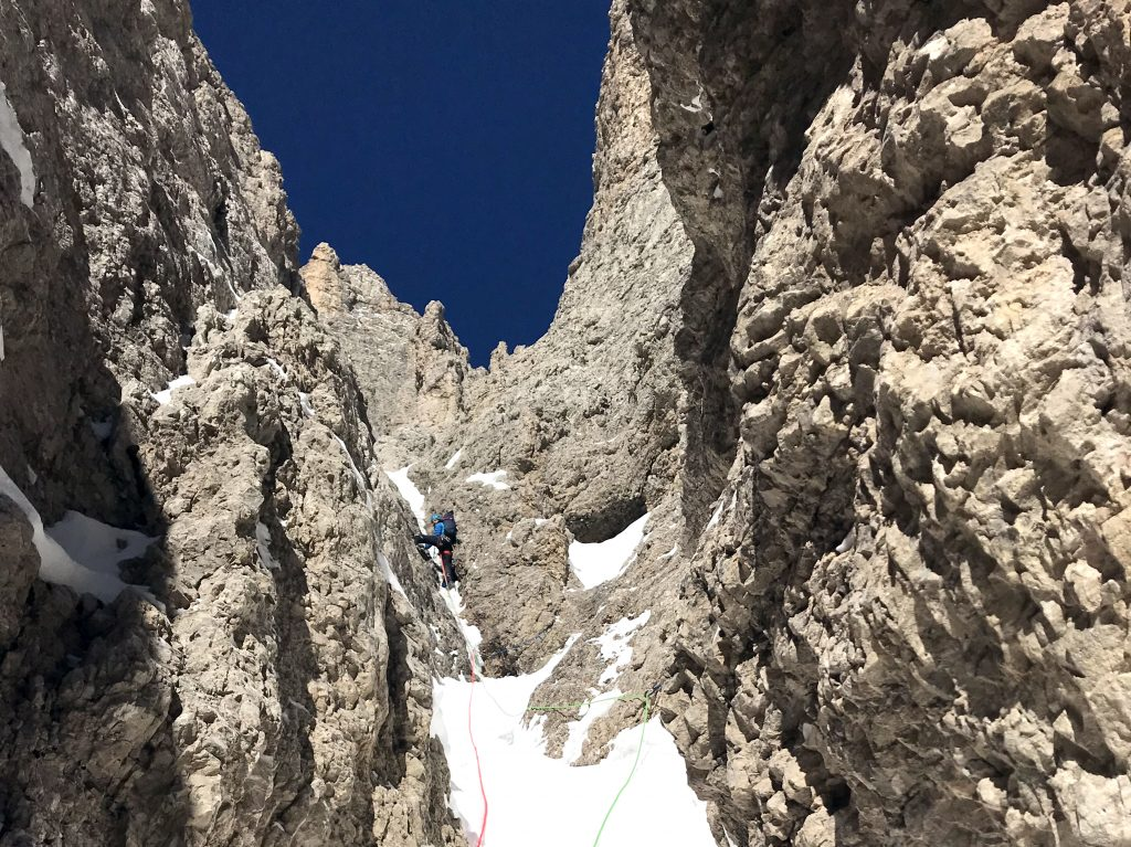 Ice Climbing in the Dolomites