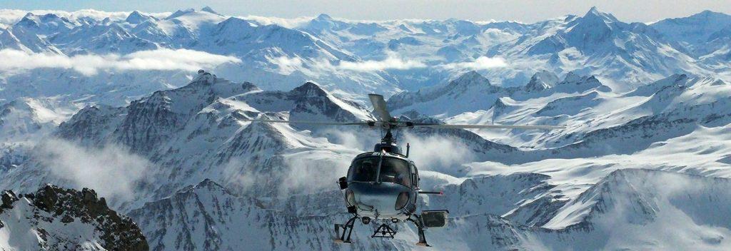 heliskiing Mont Blanc
