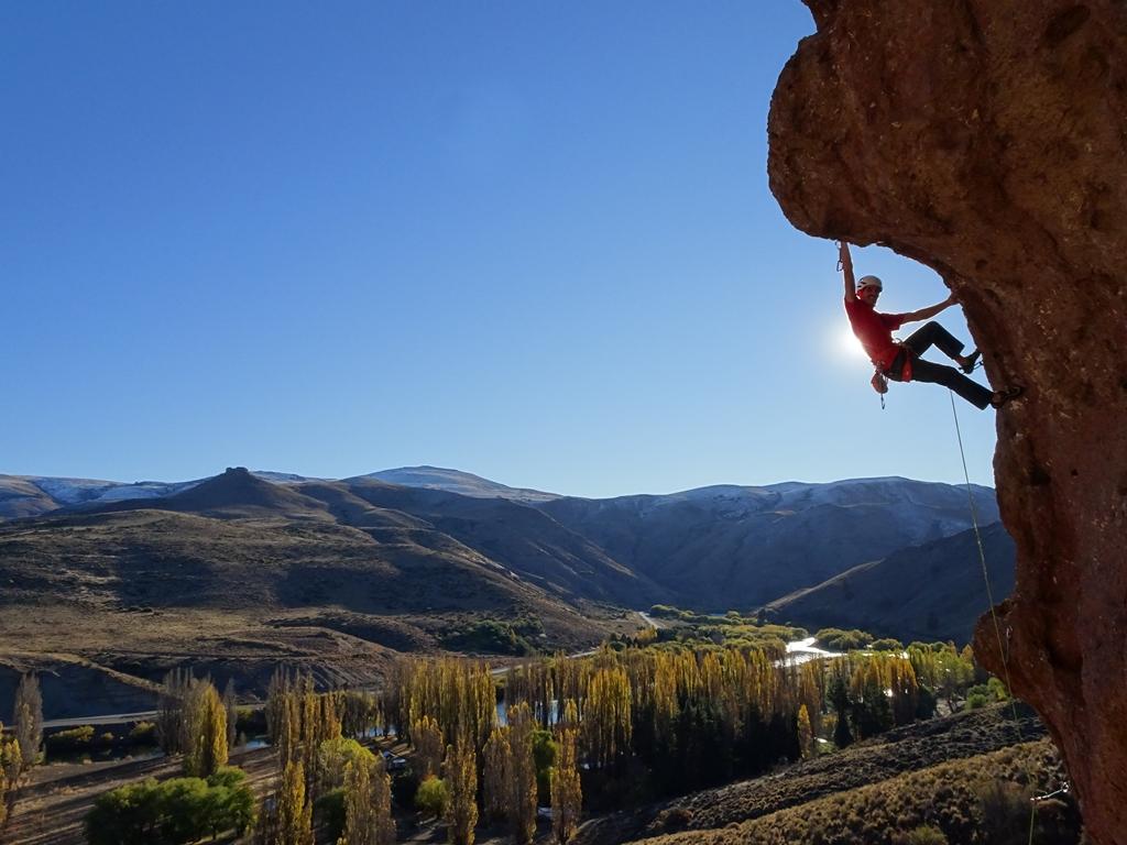 rock climbing in Bariloche