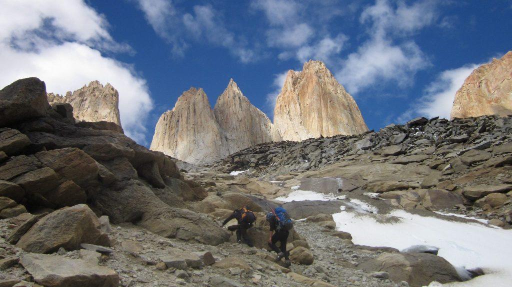 rock climbing torres del paine