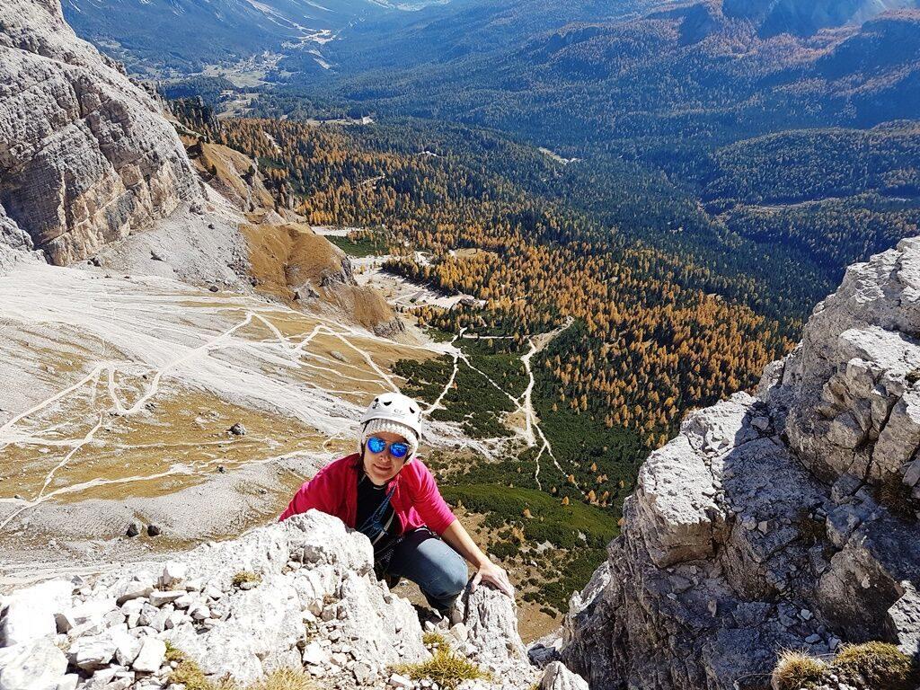 Rock climbing in Cortina d'Ampezzo