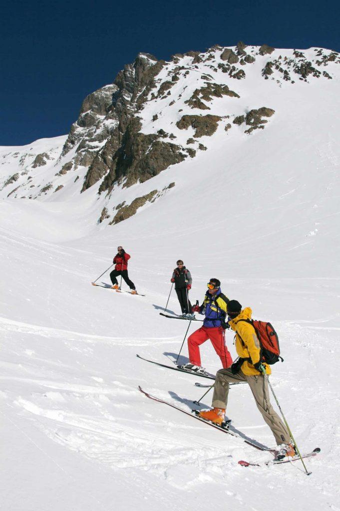 Ski touring in La Grave