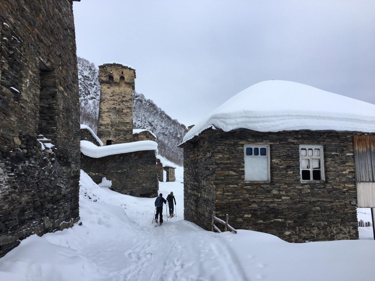 Ski Touring in Svaneti: Ancient Villages & Superb Skiing in the Caucasus Mountains
